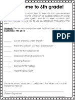 parent information packet pdf