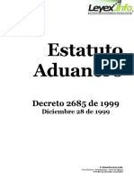 ESTATUTO ADUANERO Decreto2685de1999.pdf