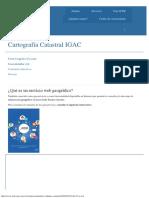 Cartografía Catastral IGAC _ ICDE