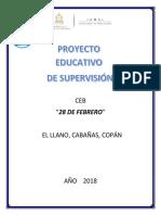 Proyecto Educativo de Supervisión CEB 28 Febrero