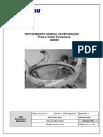 Procedimiento Repararacion - Fisura Tornamesa (GGD825 (Andina)