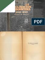 ESCUDE - Gran Bretana Estados Unidos y La Declinacion Argentina Intro y Cap 1