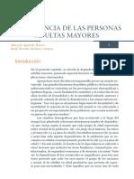 Envejecimiento y Dependencia Documento de Postura