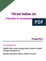 Titrasi Bebas Air 2