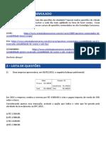 Simulado 18.05.2018 Gabarito