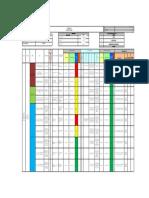 Matriz IPERC Linea Base Arquitectura