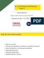 Introducción A Finanzas Cuantitativas