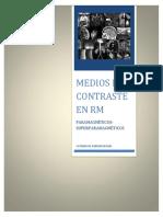 Medios d e Contraste en Rm (1)