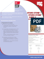 Hydro Stone Gypsum Cement Data Sheet Es Mex