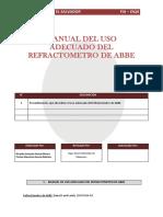 4-Manual Del Uso Adecuado Del Refractometro de Abbe (1)