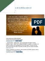 12 Versículos de La Biblia Sobre El Matrimonio