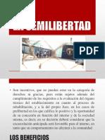 Beneficios penitenciarios - La Semilibertad