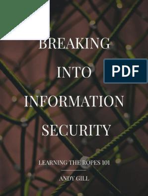 ltr101-breaking-into-infosec pdf | Internet Protocols