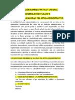 Legislación Administrativa y Laboral
