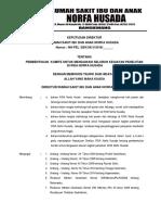 Sk, Kbijakan Komite Untuk Mengawasi Seluruh Kegiatan Penelitian Di Rs