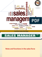 Certified Sales Manager (Part 1)