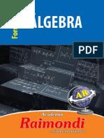 Formulario Algebra - Raimondi