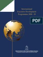 International Executive Development Programmes-2018!19!1790