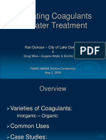 Coagulants for Water Treatment