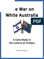 The War on White Australia - Brenton Sanderson (2016)