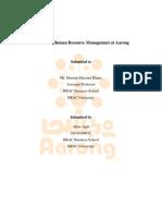 HR Practice in Aarong