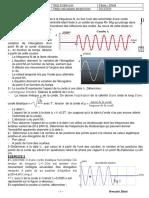 Série Physique Ondes Mécaniques Progressives BacTec