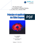 Fleur Vanherpe - Sagnac Effect Principe Et Application