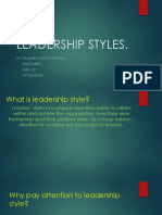 Leadership Styles Ob 2