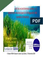 Duarte Potencial Marino Mitigacion Cambio Climatico 121109