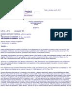 27. Montano v. Insular Government 12 Phil 57