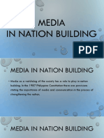 Media in Nation Building