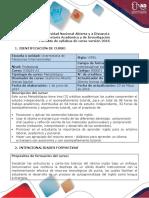 Syllabus Del Curso Inglés A1 Course Syllabus