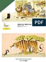 21618 Wild Cat Wild Cat Picturebook