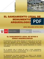 Saneamiento Legal