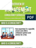 Overview of Management Advisory Services by CPAs (Cabrera)
