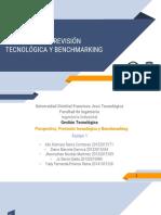 8. Prospectiva, Prevision Tecnologica y Bechmarking Tecnologico
