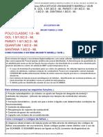 Sistema de Injeção Eletrônica Aplicativos Vw Magneti Marelli 1avb Polo Classic 1.8 - Mi. Gol 1.6_1.8_2.0 - Mi. Parati 1.6_1.8_2.0 - Mi. Quantum 1.8_2.0 - Mi. Santana 1.8_2