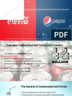 Coca Cola Csd Industry Copy
