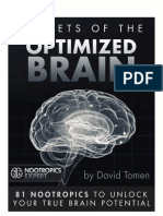 Nootropics Expert Secrets of the Optimized Brain 2nd Editon
