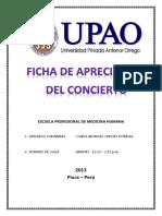 Ficha Musica