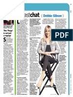 """Newsday """"Fast Chat"""" - Debbie Gibson"""