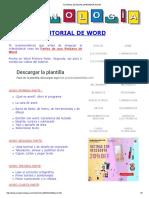 Tutorial de Word _aprender Word
