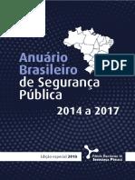 FBSP ABSP Edicao Especial Estados Faccoes 2018