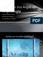 Aula de Angelologia - Prof. Coriolando Fernandes de A. Junior