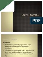 Unit 03 Payroll