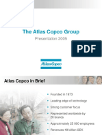 Atlas Copco Group Presentation 2005