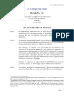 Ley Del Impuesto de Timbres Fiscales Decreto No. 136