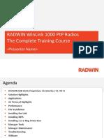 RADWIN WL1000 PtP Training Course v1.4.pptx