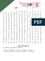 SOPA DE LETRA -3