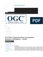 Geospatial Business Intelligence